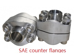 Finished the shippment for the high pressure SAE counter flanges